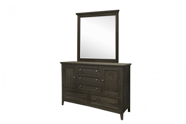Mill River Traditional Weathered Charcoal Wood Drawer Dresser MG-B3803-20