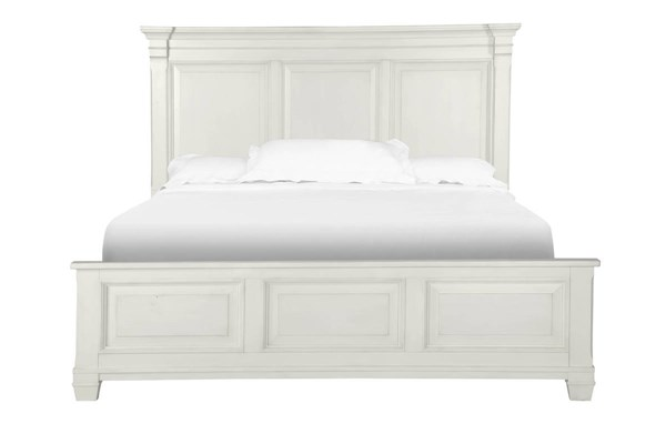 Magnussen Home Brookfield White King Panel Bed MG-B4056-64