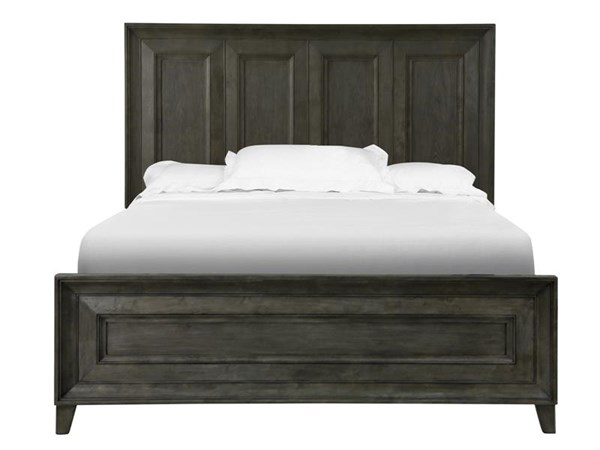 Murray Hill Transitional Chestnut Wood Queen Panel Bed MG-B4072-54