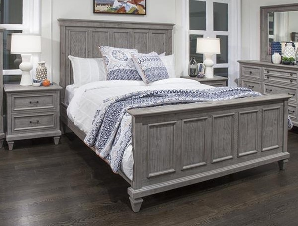 Magnussen Home Lancaster 2pc Bedroom Set with Queen Panel Bed MG-B4352-BR-S1