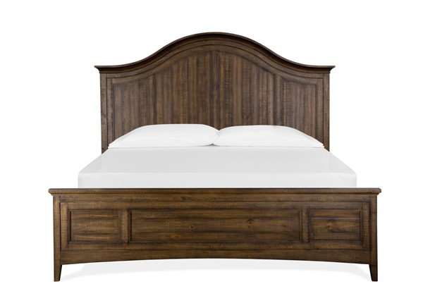 Magnussen Home Bay Creek Toasted Nutmeg Arched Beds MG-B4398-A-BEDS