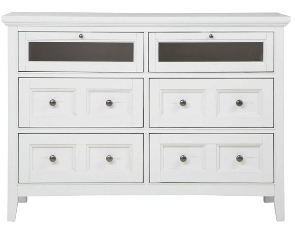 Magnussen Home Heron Cove Wood Media Chest MG-B4400-36