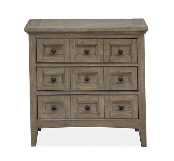 Magnussen Home Paxton Place Dovetail Grey Drawer Nightstand MG-B4805-01