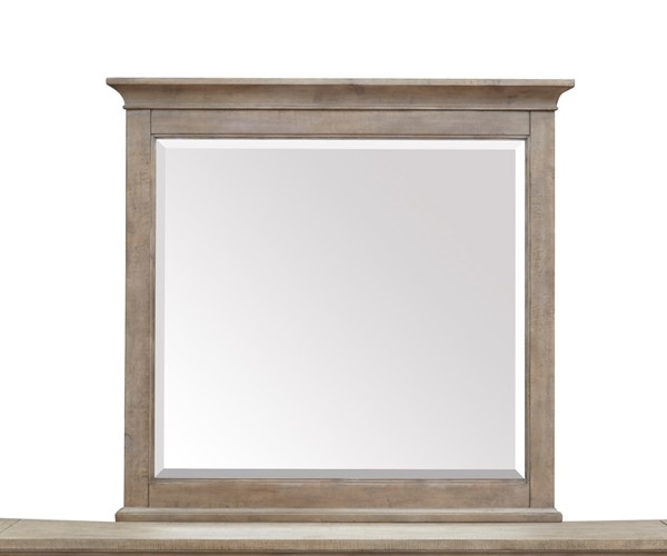 Magnussen Home Paxton Place Dovetail Grey Landscape Mirror MG-B4805-40