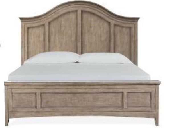 Magnussen Home Paxton Place Dovetail Grey Arched Beds MG-B4805-A-BEDS