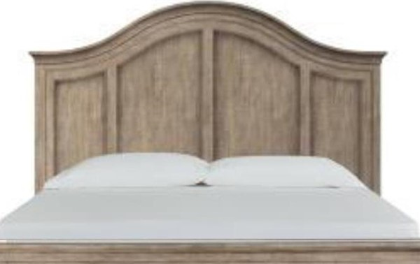 Magnussen Home Paxton Place Dovetail Grey Queen Arched Headboard MG-B4805-55H