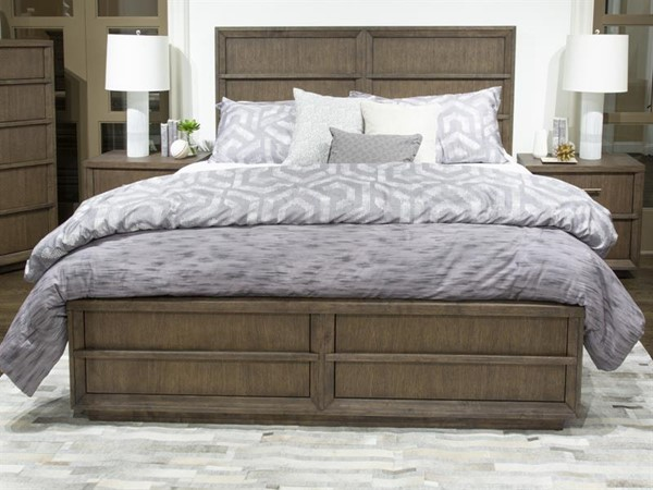 Magnussen Home Aberdeen Bristol Brown Panel Beds MG-B4999-BEDS
