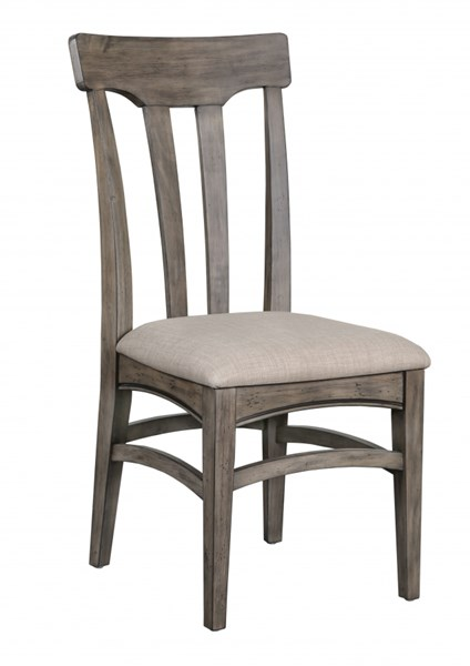 2 Walton Transitional Natural Wood Dining Chairs w/Upholstered Seat MG-D2469-62