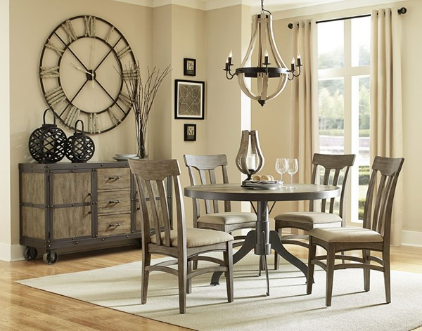 Walton Transitional Natural Wood Dining Room Set MG-D2469-DR