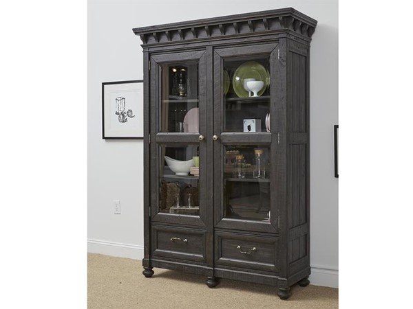 Magnussen Home Bedford Corners Wood China Cabinet MG-D4282-01