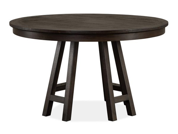 Magnussen Home Westley Falls Graphite 52 Inch Round Dining Table MG-D4399-27