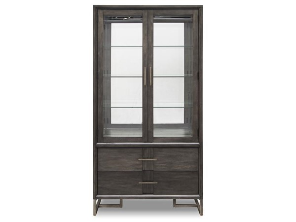 Magnussen Home Proximity Heights Wood Curio China Cabinet MG-D4450-07