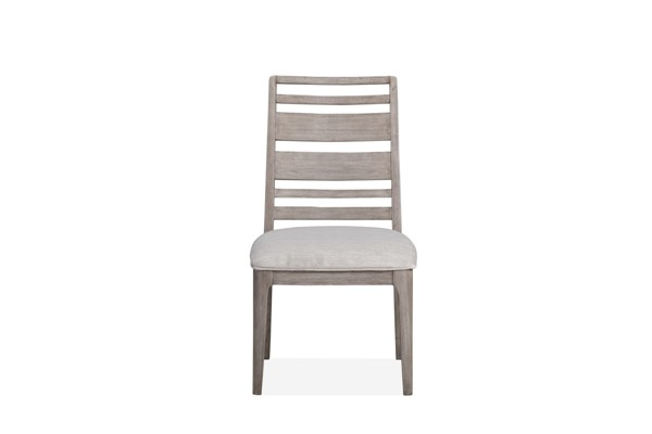 2 Magnussen Home Pacifica Aged Sea Salt Dining Side Chairs MG-D4771-62