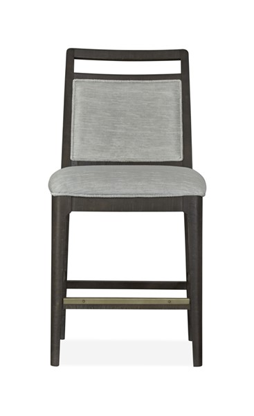 2 Magnussen Home Echo Park Barnacle Upholstered Pub Chairs MG-D4772-85