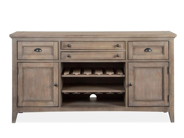 Magnussen Home Paxton Place Dovetail Grey Buffet MG-D4805-14