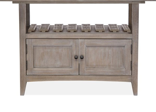 Magnussen Home Paxton Place Dovetail Grey Counter Dining Table Base MG-D4805-42B