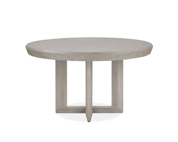 Magnussen Home Palisade Sandblasted Sandstone Round Dining Table MG-D4994-24