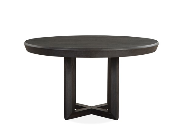 Magnussen Home Wentworth Village Oxford Black Round Dining Table MG-D4995-24