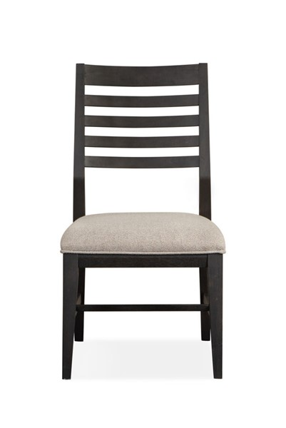 2 Magnussen Home Wentworth Village Oxford Black Side Chairs MG-D4995-62