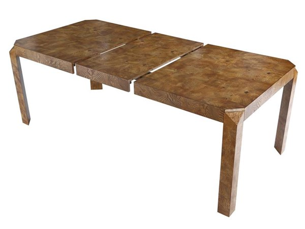 Jagger Modern Oliver Ash Burl MDF Wood Rectangular Dining Table MG-DD-9006-20
