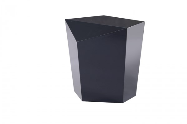 Gem Ink Contemporary Ink Lacquer MDF Wood End Table MG-DT-9062-22