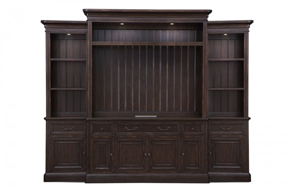 Lafayette Traditional Cherry Wood Entertainment Center MG-E2352