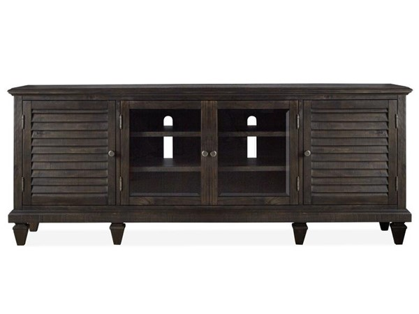 Magnussen Home Calistoga Weathered Charcoal Large Console MG-E2590-08