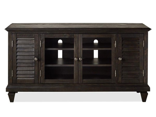 Magnussen Home Calistoga Weathered Charcoal Small Console MG-E2590-09