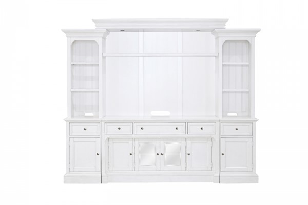Laurel Garden Casual Soft White Wood Left Pier MG-E3272-35L