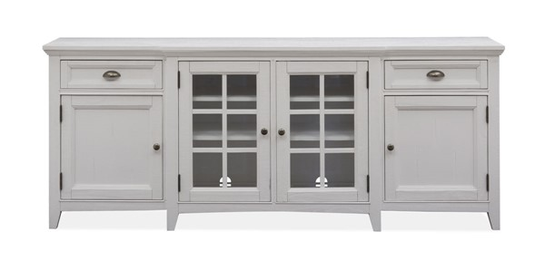 Magnussen Home Heron Cove Chalk White 80 Inch Console MG-E4400-08