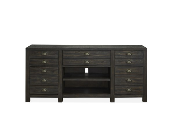 Magnussen Home Vernon Weathered Bourbon Console MG-E4531-05