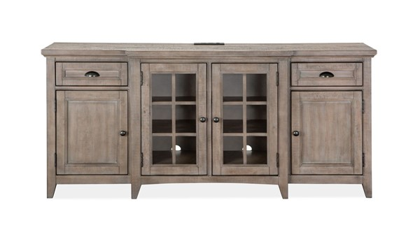 Magnussen Home Paxton Place Dovetail Grey 70 Inch Console MG-E4805-05