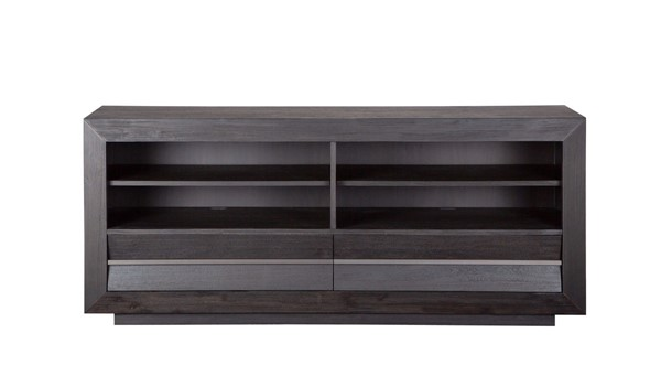 Magnussen Home Wentworth Village Sandblasted Oxford Black 70 Inch Console MG-E4995-08