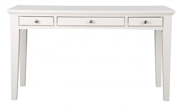 Kentwood Cottage Pristine White Wood Writing Desk MG-H1475-01