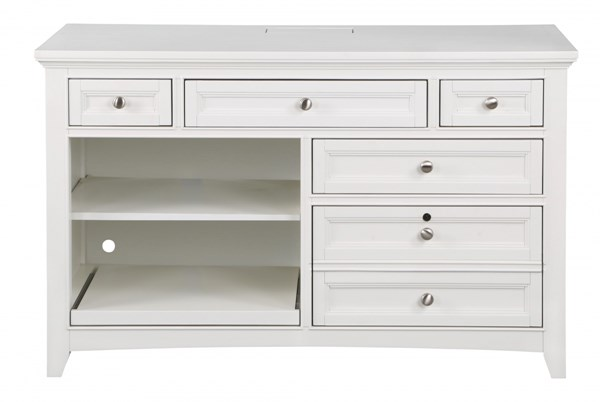 Kentwood Cottage Pristine White Wood Credenza MG-H1475-30