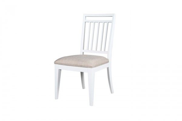 Kentwood Cottage Pristine White Wood Desk Chair MG-H1475-82