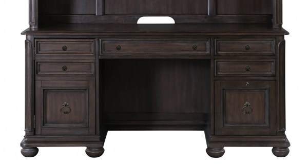 Broughton Hall Traditional Distressed Nutmeg Wood Credenza MG-H2354-30