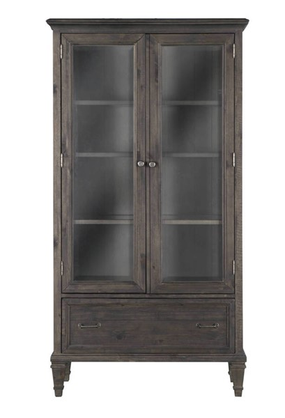Magnussen Home Sutton Place Wood Door Bookcase MG-H3612-22