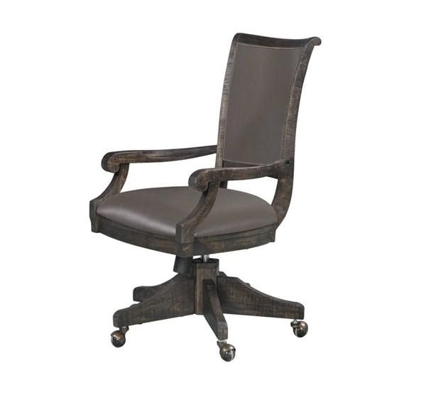 Magnussen Home Sutton Place Wood Swivel Chair MG-H3612-82
