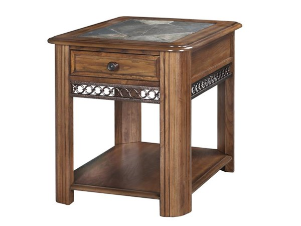 Magnussen Home Madison Brown Drawer End Table MG-T1125-03