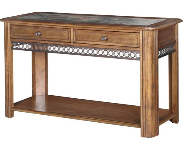 Magnussen Home Madison Brown Sofa Table MG-T1125-73