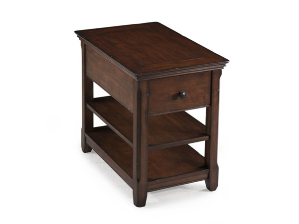Tanner Casual Tobacco Wood Chairside Table MG-T1297-10