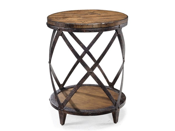 Magnussen Home Pinebrook Round Accent Table MG-T1755-35