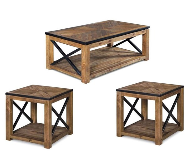 Magnussen Home Penderton 3pc Coffee Table Set with Lift Top MG-T2386-OCT-S2