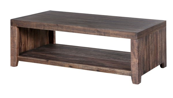 Magnussen Home Caitlyn Natural Rectangular Cocktail Table MG-T2528-43