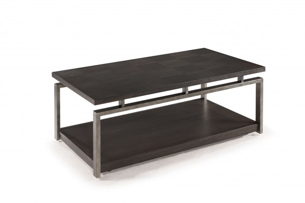 Magnussen Home Alton Metal Rectangular Cocktail Table MG-T2535-43