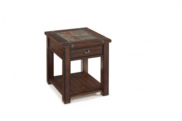 Magnussen Home Roanoke Cherry Rectangular End Table MG-T2615-03