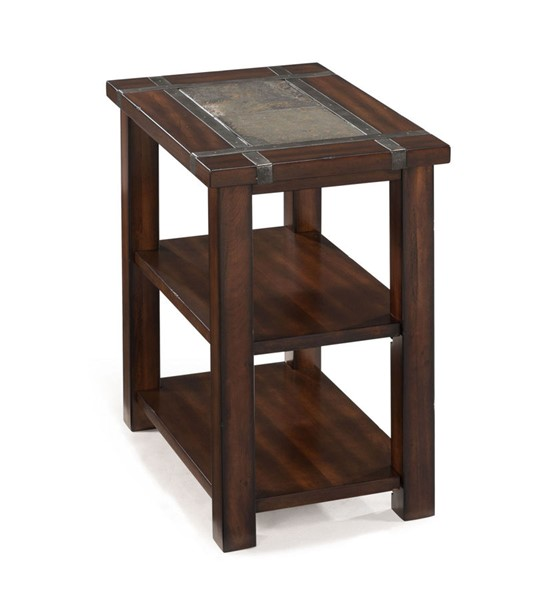 Magnussen Home Roanoke Cherry Rectangular Chairside End Table MG-T2615-10