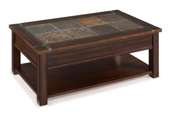 Magnussen Home Roanoke Cherry Rectangular Lift Top Cocktail Table MG-T2615-50