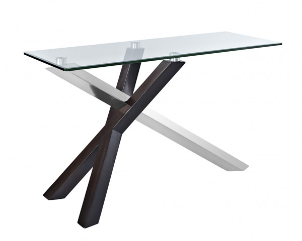 Verge Casual Glass Rectangular Sofa Table Top MG-T2775-73T